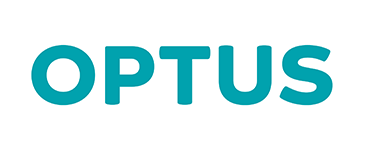 OPTUS BUSINESS logo