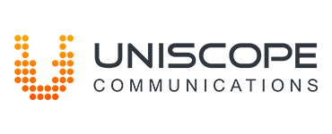 UNISCOPE COMMUNICATIONS logo